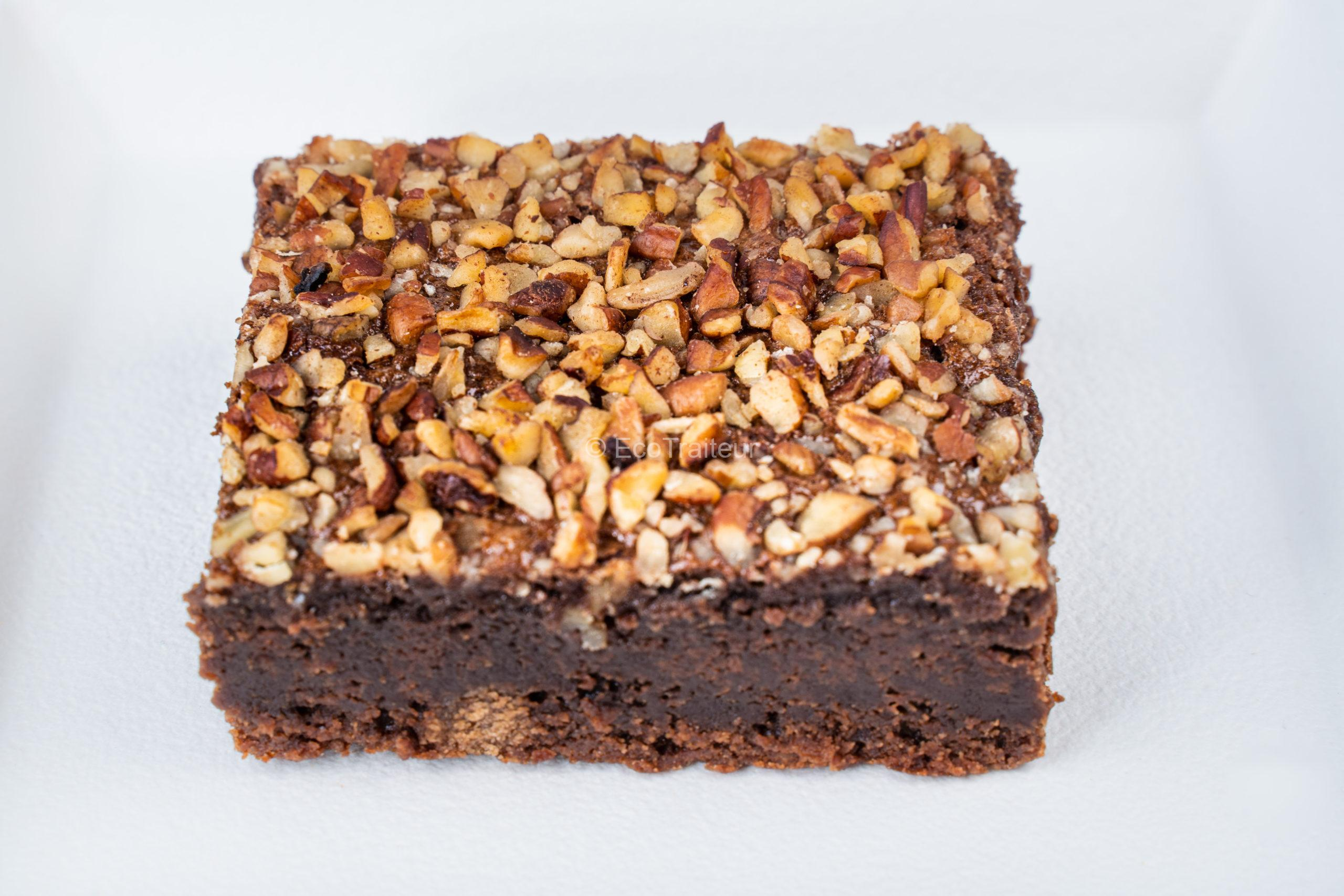 brownie chocolat ecotraiteur Paris