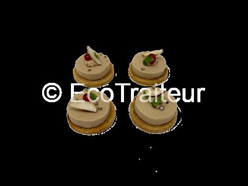 canapé foie gras ecotraiteur traiteur paris pas cher eco responsable Vip