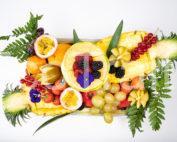 corbeille fruit ecotraiteur traiteur paris fruit de saison vue de haut
