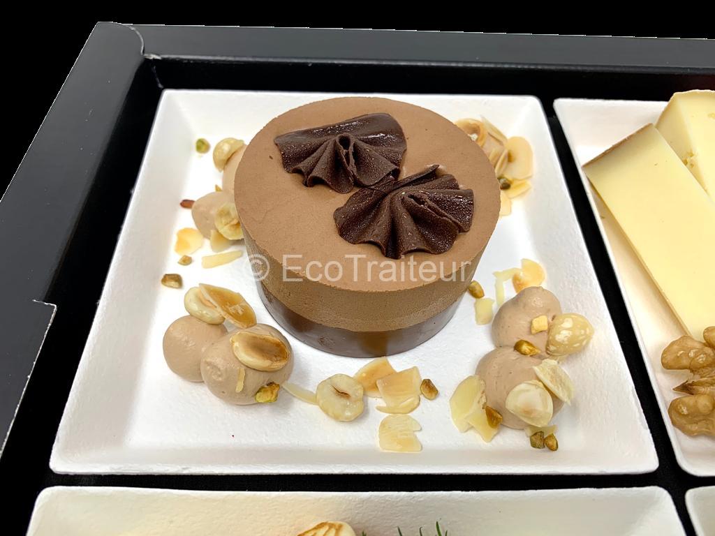 dessert chocolat plateau repas gourmet