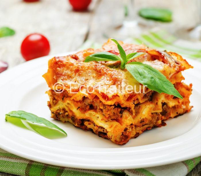 lasagne pur boeuf ecotraiteur apris isf buffet chaud produit frais