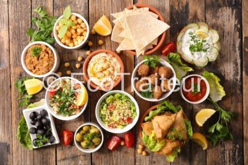 ecotraiteur buffet libanais orientale mezze paris livraison table libanais grecque arménien
