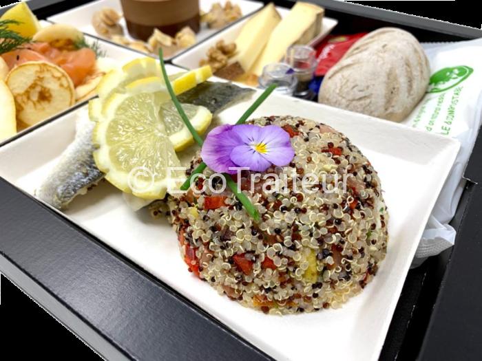 plat quinoa bar plateau repas ecotraiteur plateau repas gourmet traiteur paris