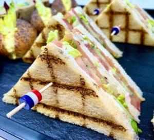 sandwiche club ECOTRAITEUR PARIS CLUB LUNCH