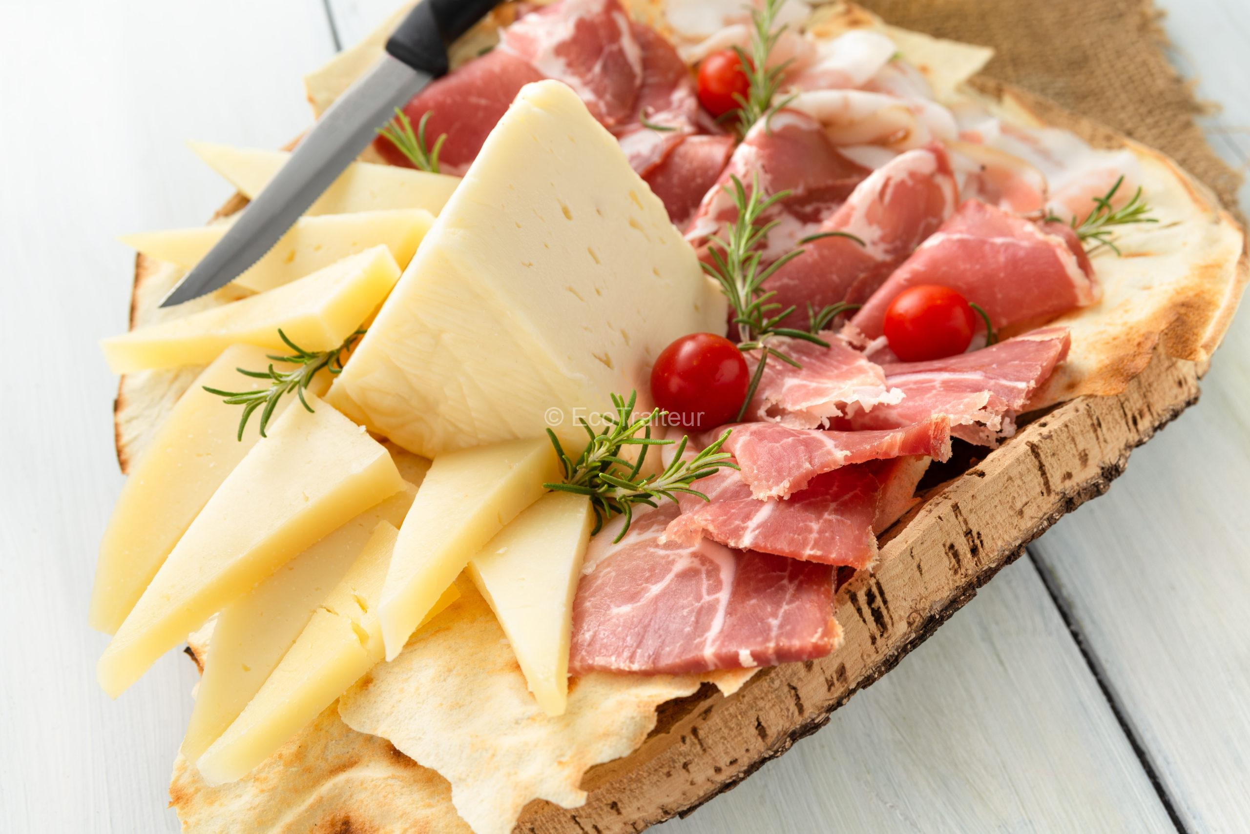 plateau de fromage charcuterie ecotraiteur paris